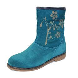Ботинки (058-500 blue)