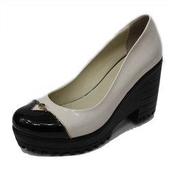 Туфли (1092-08-383 black biege)