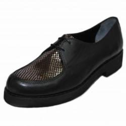 Туфли (15-932 black-bronze)