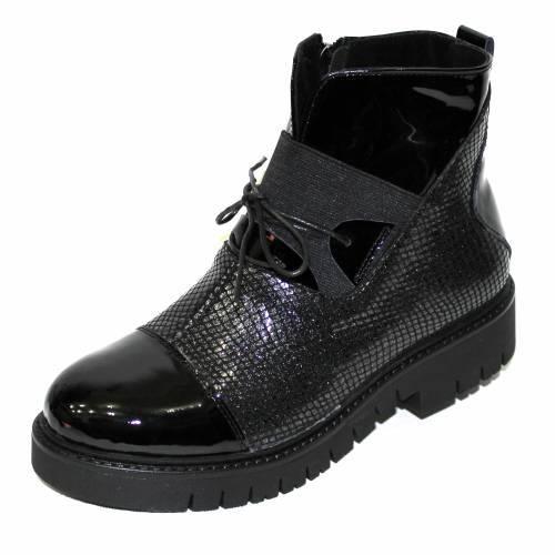 Ботинки (07077-010-222 black)