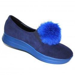 Туфли (23018-77-77 blue)-2