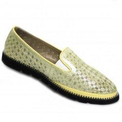 Туфли (530-66-12 yellow)-2