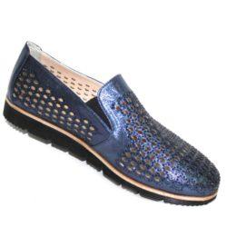 Туфли (888-163 blue)-2