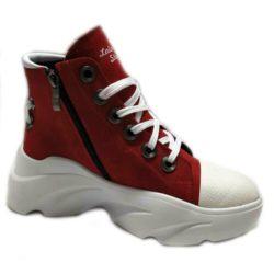 Ботинки (230919-01-88 red)-2