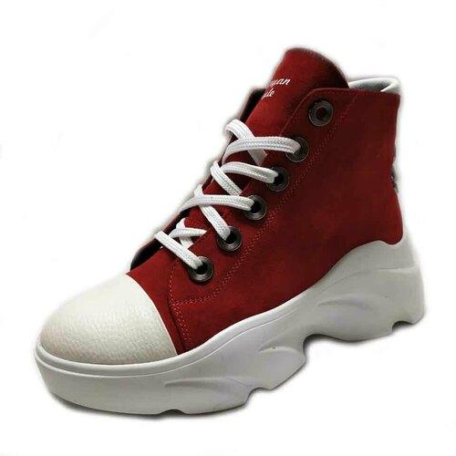 Ботинки (230919-01-88 red)